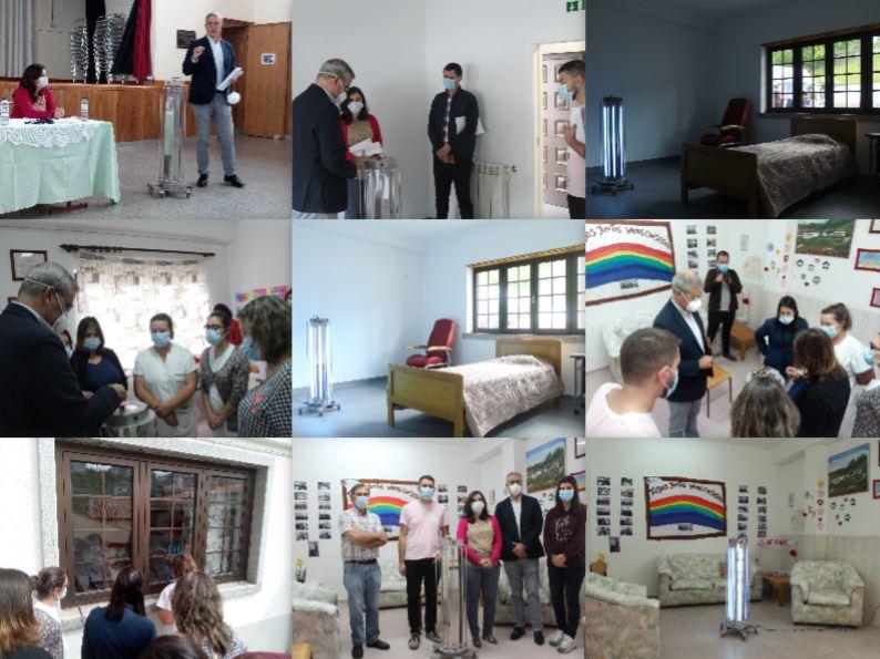 Casa do Povo de Cerdeira e Moura da Serra, I.P.S.S. Dispõe de equipamento de desinfeção através de Ultravioleta