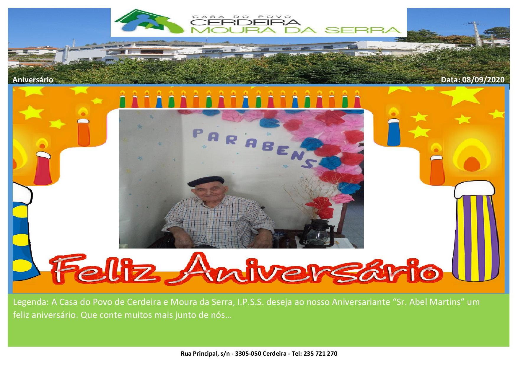Aniversário Sr. Abel