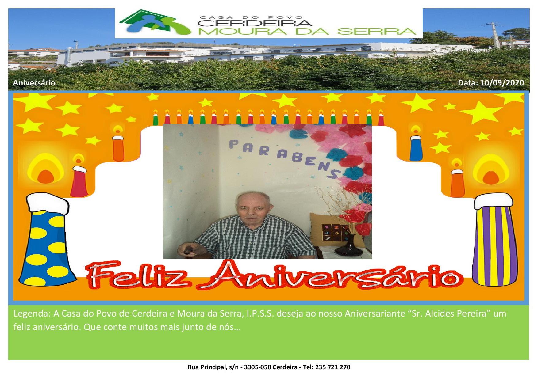 Aniversário Sr. Alcides