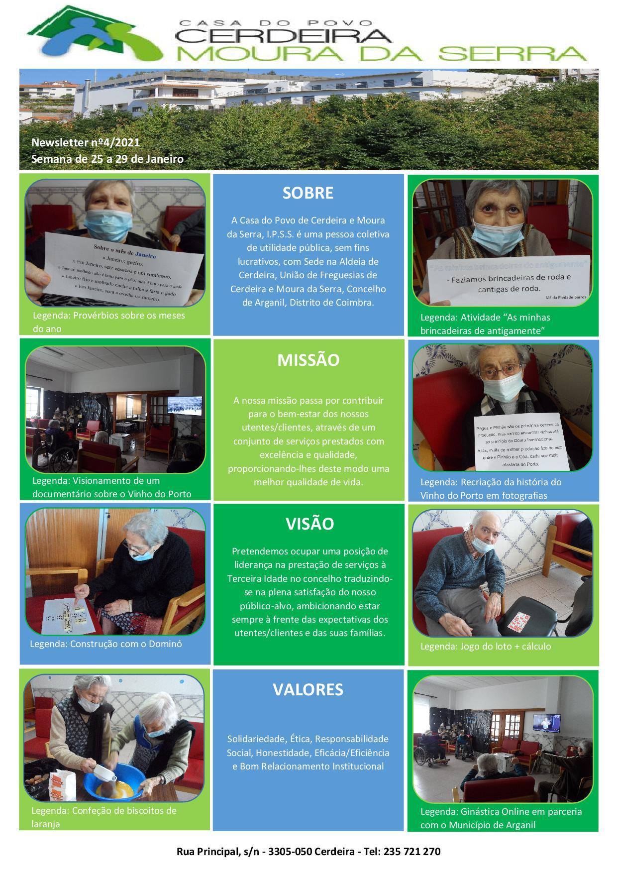 Newsletter nº4/2021