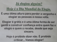Casa do Povo de Cerdeira e Moura da Serra, I.P.S.S. – Dia Mundial do Elogio, Legumes, Vídeo e Dia da Mulher