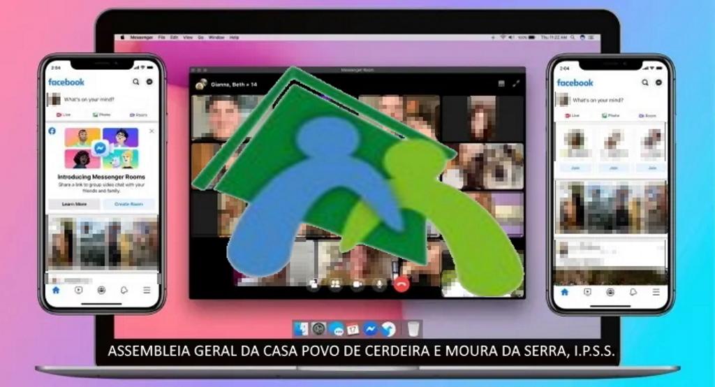 INFORMAÇÃO – Assembleia Geral da Casa do Povo de Cerdeira e Moura da Serra, I.P.S.S. (Online)